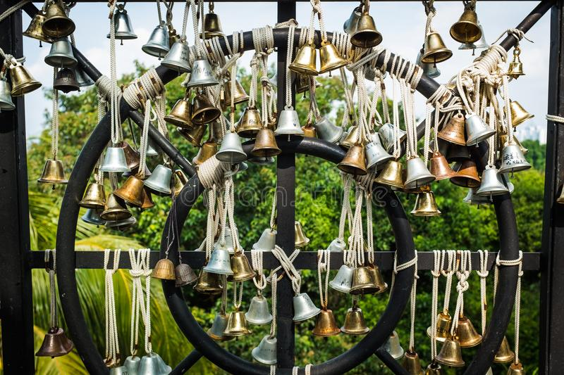 Bells of Love royalty free stock image