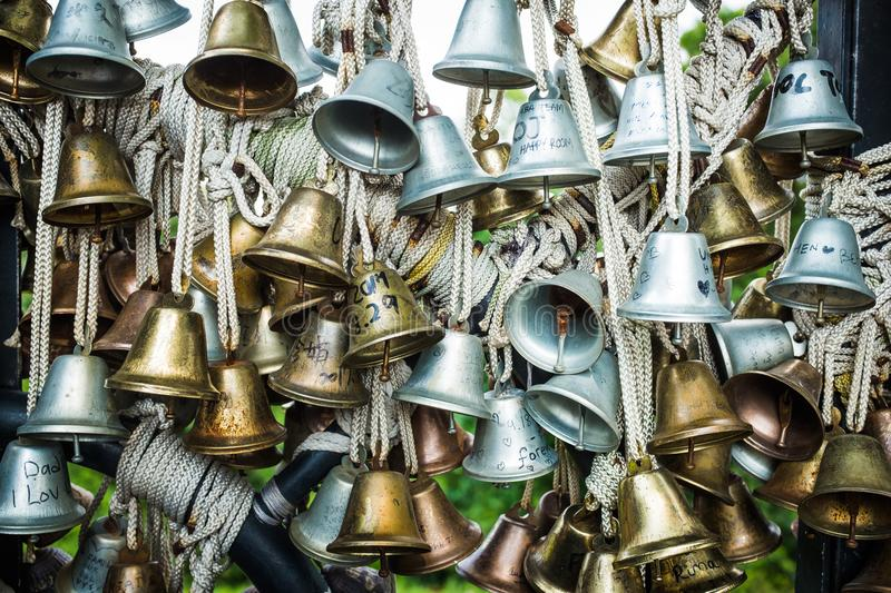 Bells of Love royalty free stock photo