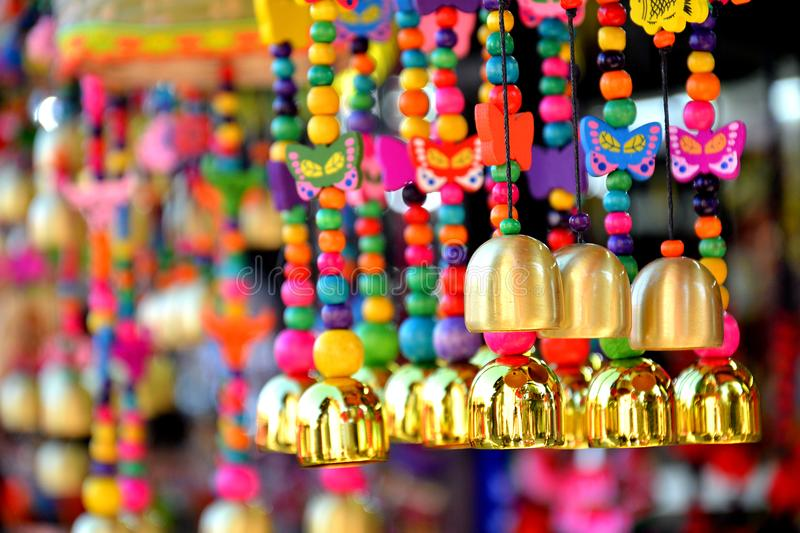 Bells made by minorities royalty free stock image
