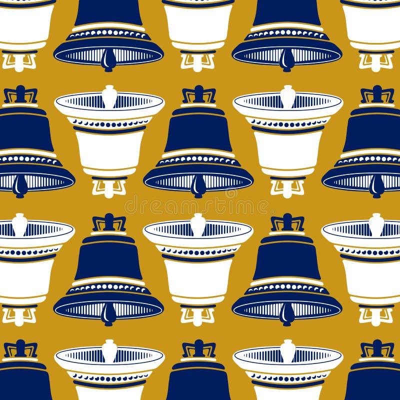 Download Bells wallpaper background stock vector. Image of iron - 24453608
