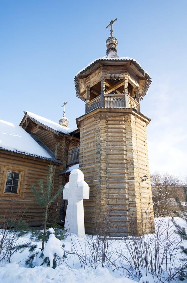 Belltower d'église de Panteleimon le guérisseur au CEN médical photo stock