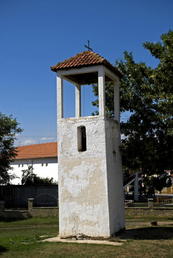 Belltower, Gusterica, Kosovo fotos de archivo libres de regalías