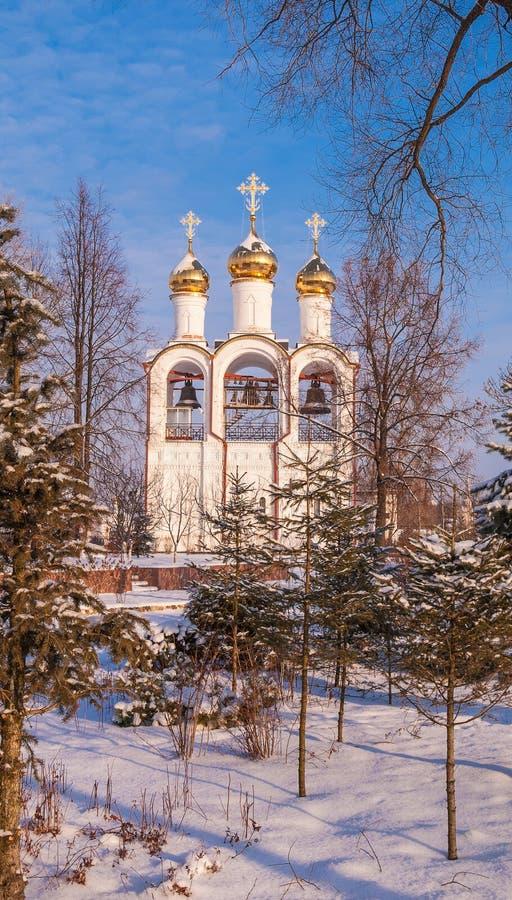 Belltower im St. Nicholas Monastery stockfotografie