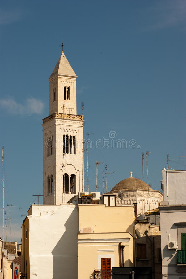Free Belltower In Bari Royalty Free Stock Photo - 10808895