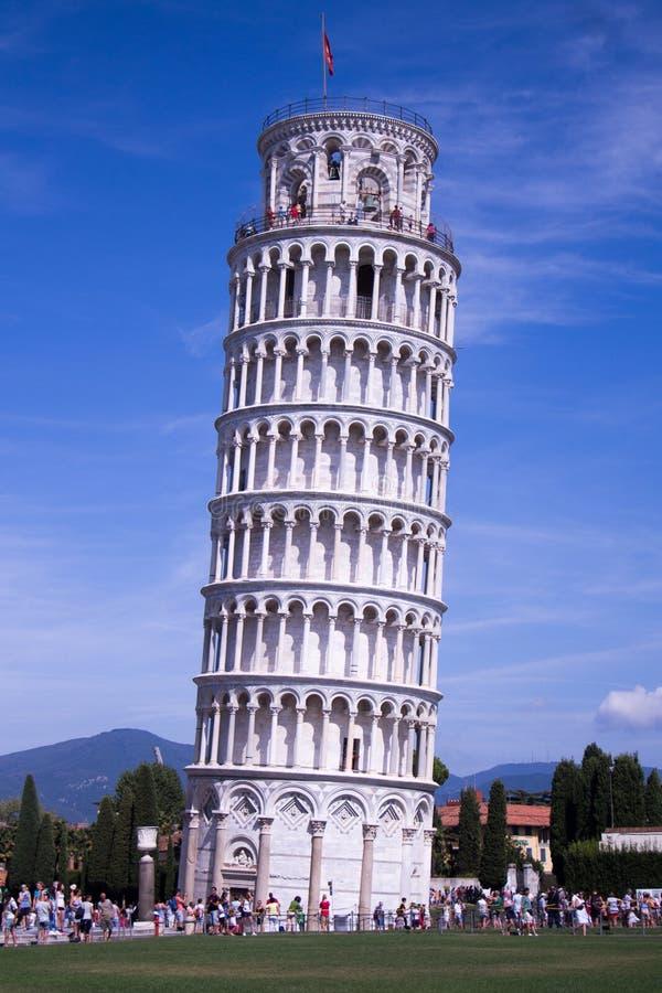 Belltower van de Kathedraal van Pisa royalty-vrije stock foto's
