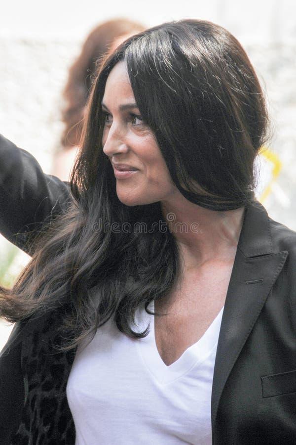 bellucci monica актрисы стоковая фотография