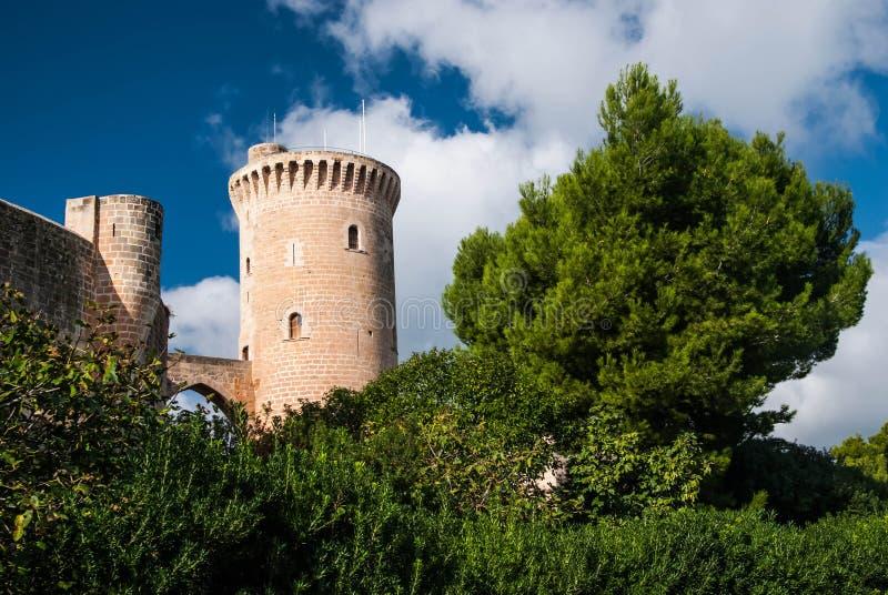 Bellver Castle stock photo