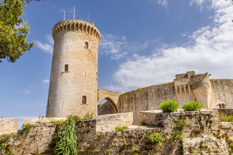 Bellver-Schlossfestung in Palma de Mallorca stockfoto
