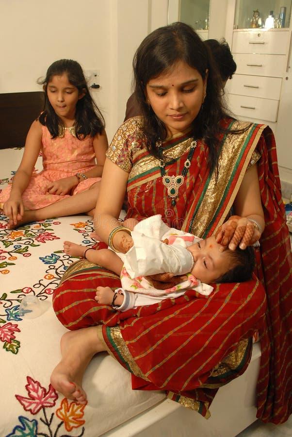 Belly-band del bebé imagenes de archivo