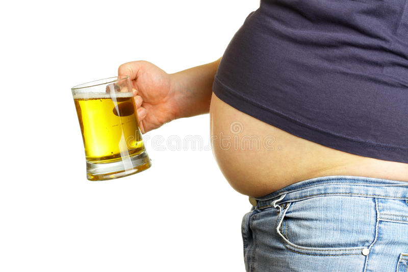 Download Belly and beer stock photo. Image of enjoyment, drink - 11479054