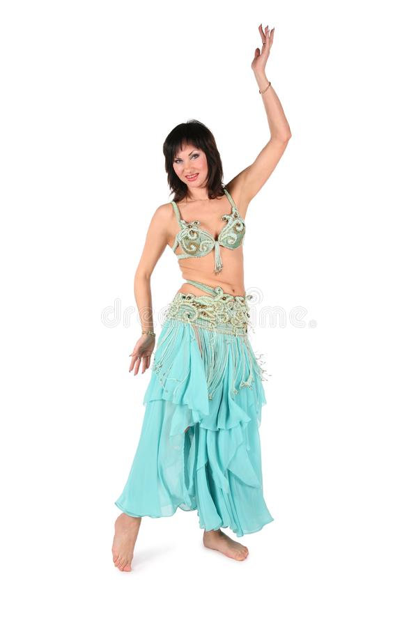 Belly dance woman stock photo