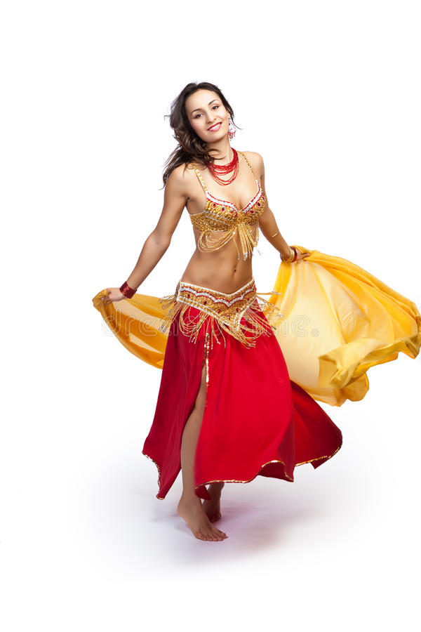 Download Belly dancer stock photo. Image of performance, attractive - 13631718