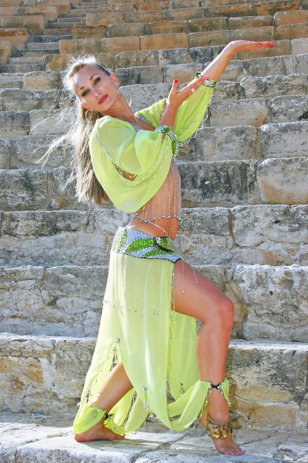 Download Belly dancer stock image. Image of beadswork, coins, beautiful - 14313279
