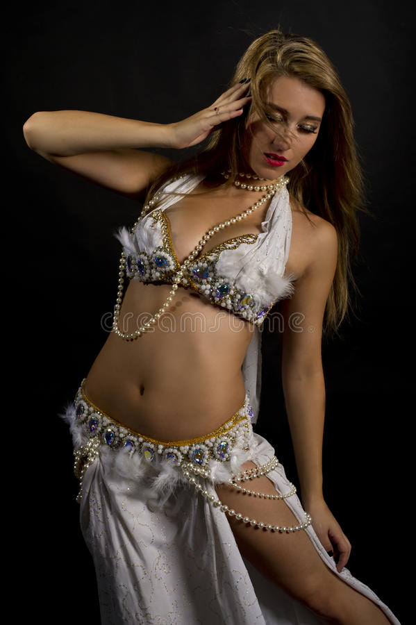 Download Belly Dancer stock image. Image of mysterious, background - 23061465