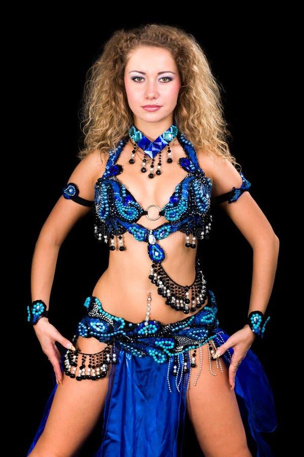 Download Belly dancer stock image. Image of elegance, beauty, female - 26915135