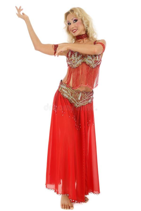 Belly-dancer royalty free stock photos