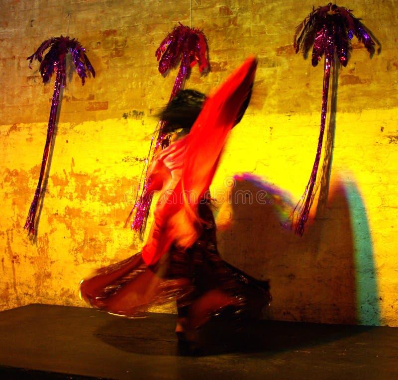 Download Belly Dancer's Spin Stock Image - Image: 5211911
