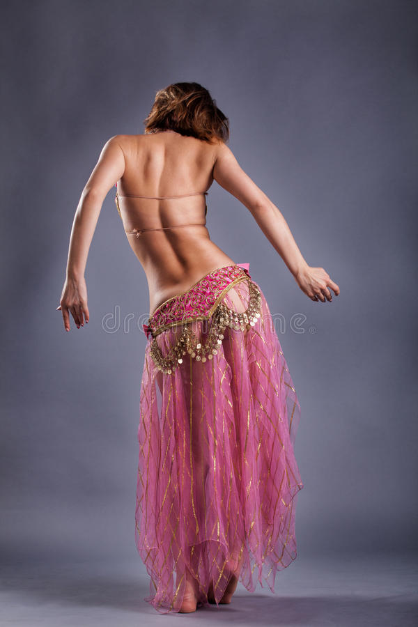 Belly dancing royalty free stock photography