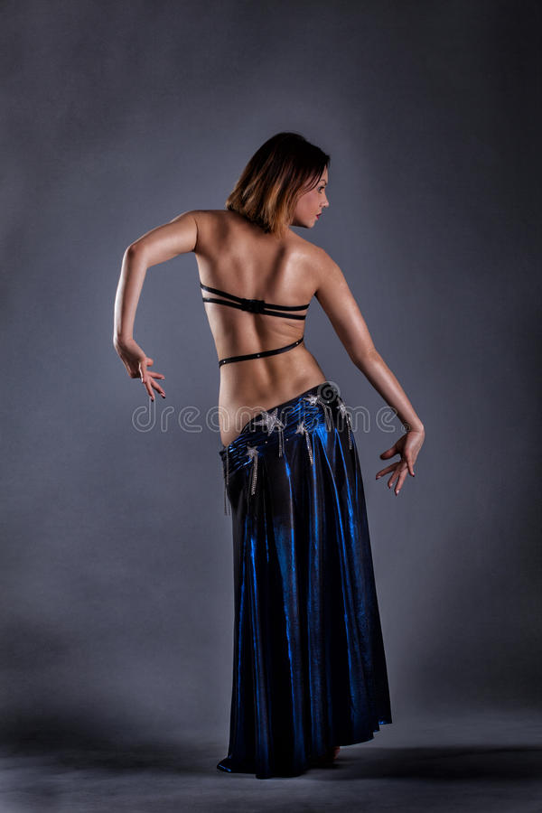 Belly dancing stock photography