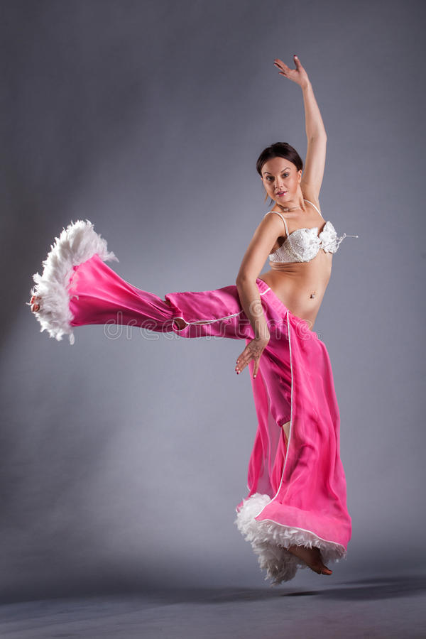 Belly dancing stock images