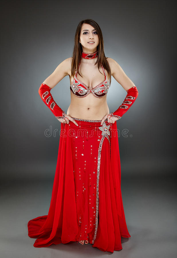 Download Bellydancer in action stock image. Image of indian, attractive - 40656951