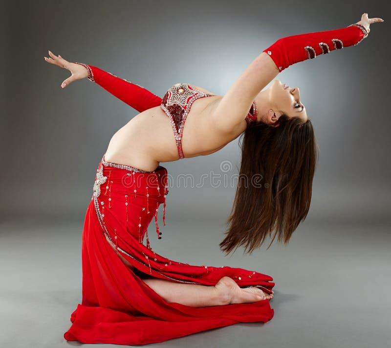 Download Bellydancer in action stock image. Image of dance, arabic - 40657045