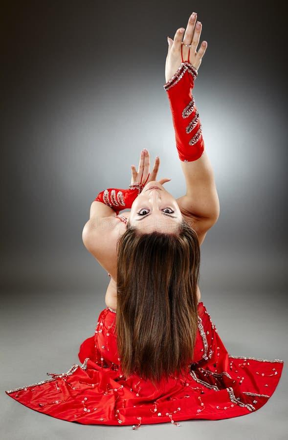 Download Bellydancer in action stock photo. Image of arabian, attractive - 40657066