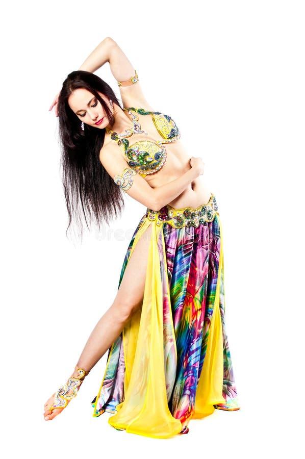 Bellydancer dziewczyny portret zdjęcie royalty free