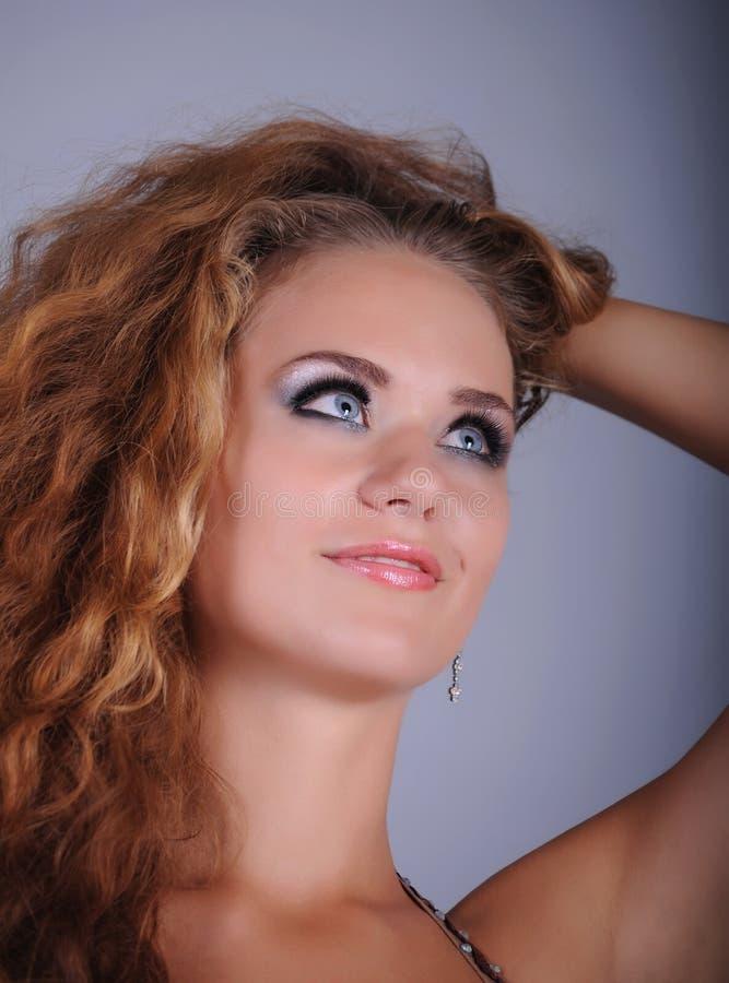 Bellydancer dziewczyny portret obraz royalty free