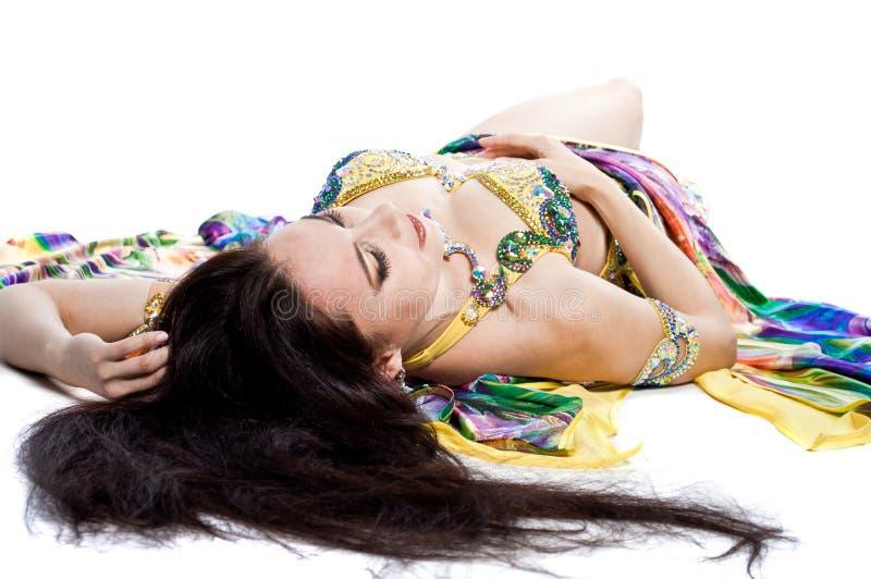 Download Bellydancer girl portrait stock photo. Image of body - 39504628