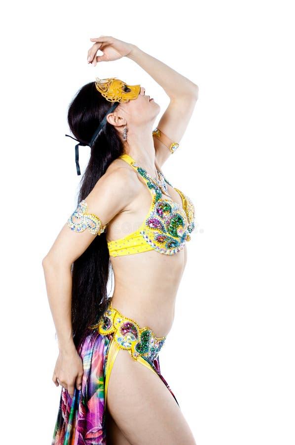 Download Bellydancer girl portrait stock image. Image of ethnic - 39504781