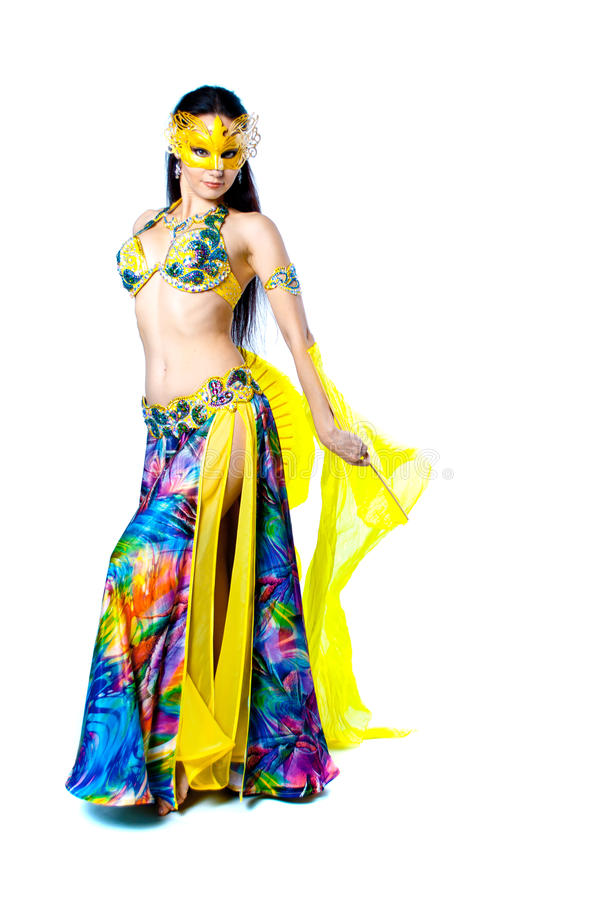Download Bellydancer girl portrait stock photo. Image of beautiful - 39504900