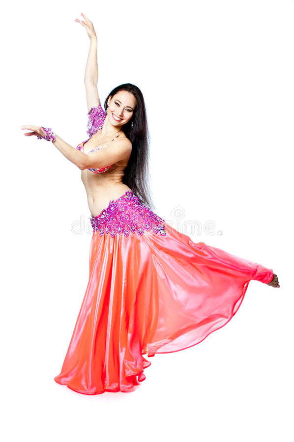 Download Bellydancer girl portrait stock photo. Image of activity - 39505120