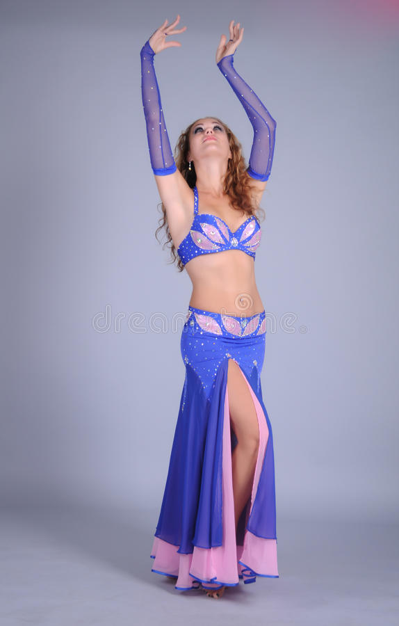 Download Bellydancer girl portrait stock photo. Image of attractive - 39504722