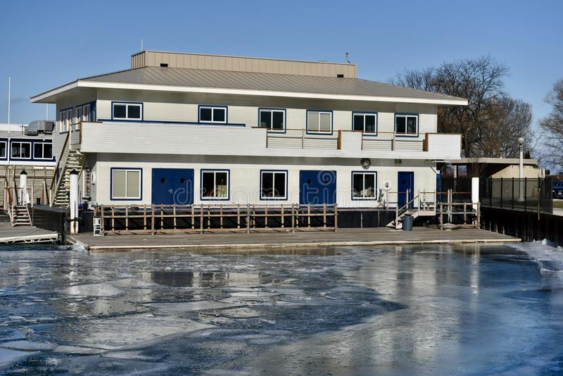 Download Belmont Harbor Clubhouse editorial photography. Image of illinois - 83724332