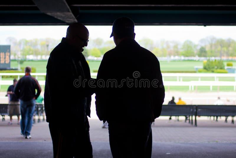 Belmont Park racespår 2011 arkivbild