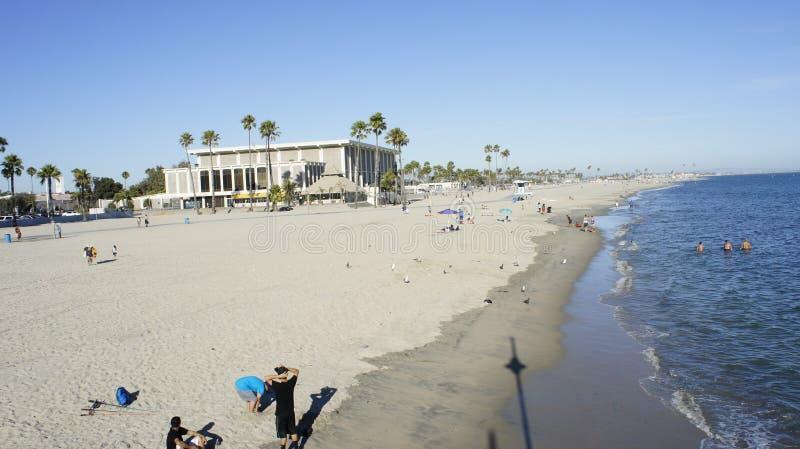 Belmont Veterans Memorial Beach royalty free stock photos
