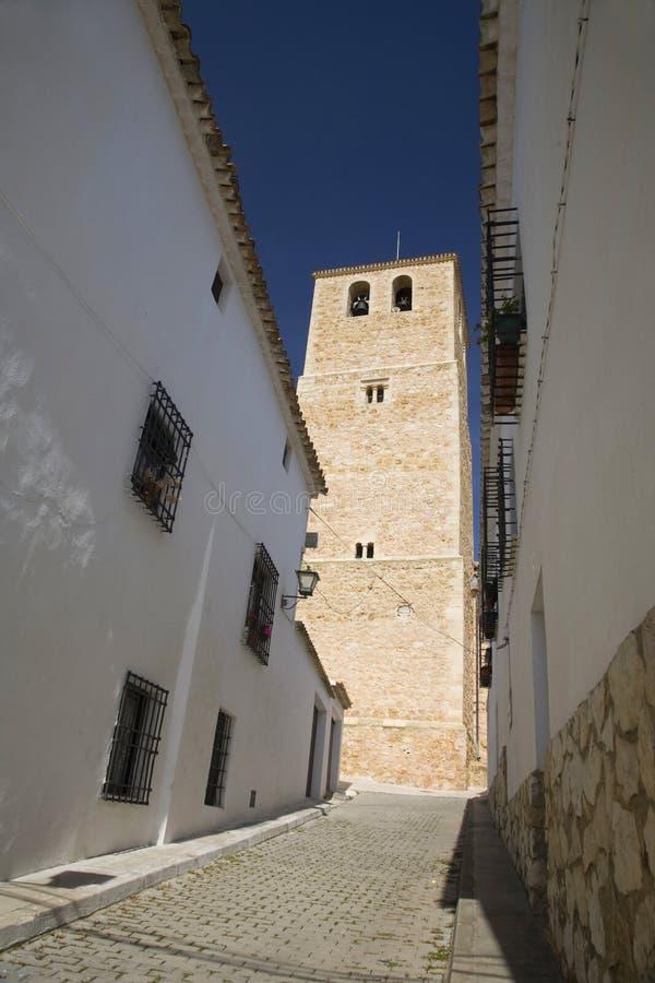 Free Belmonte Church Tower Street Stock Photo - 5204720