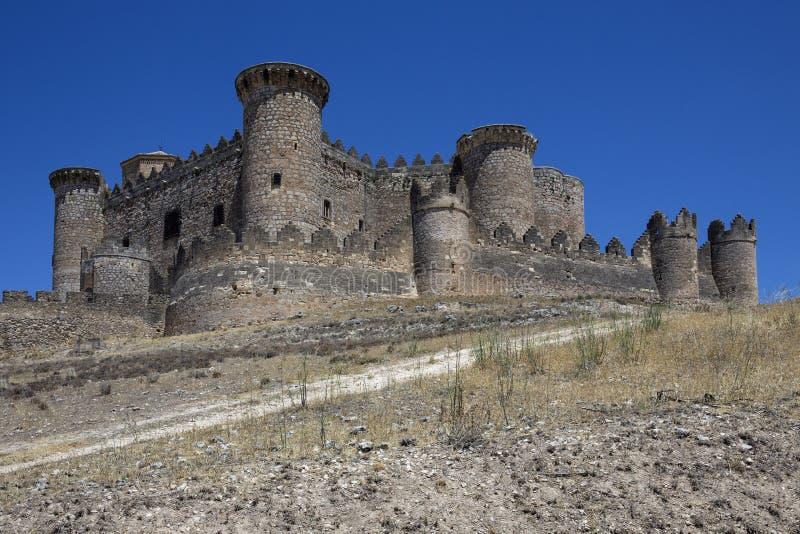 Download Belmonte Fortress - La Mancha - Spain Stock Image - Image: 26946687