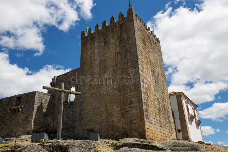 Belmonte Kasteel royalty-vrije stock foto