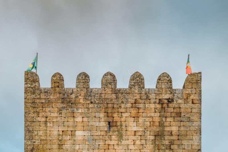Belmonte Kasteel, Belmonte, Portugal royalty-vrije stock foto