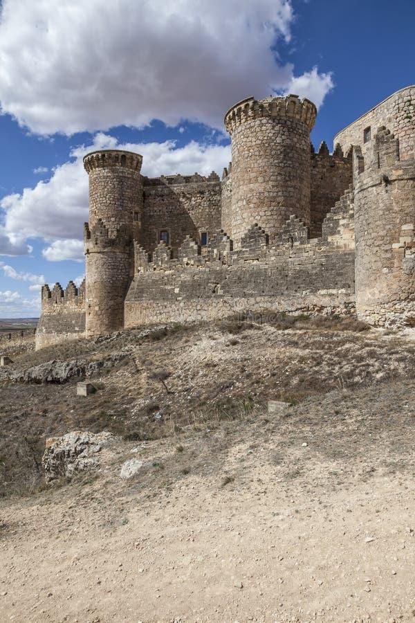 Belmonte Kasteel, Spanje stock foto