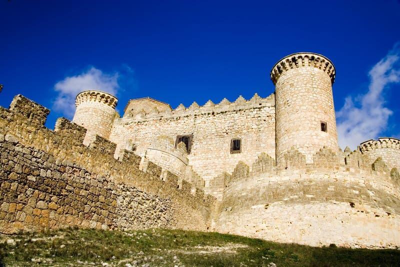 belmonte slott royaltyfri fotografi