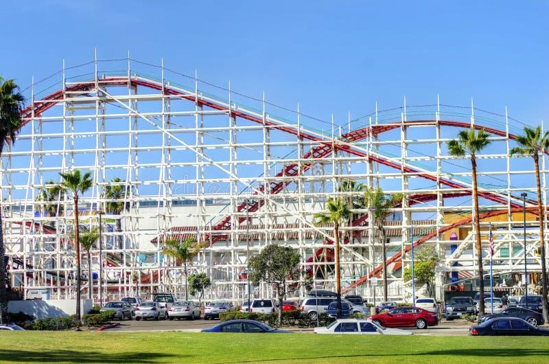 Belmontpark, San Diego, CA royalty-vrije stock foto's