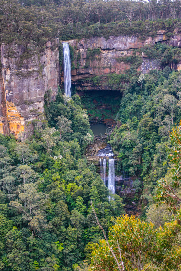 Download Belmore Falls stock photo. Image of landmark, australia - 60508820