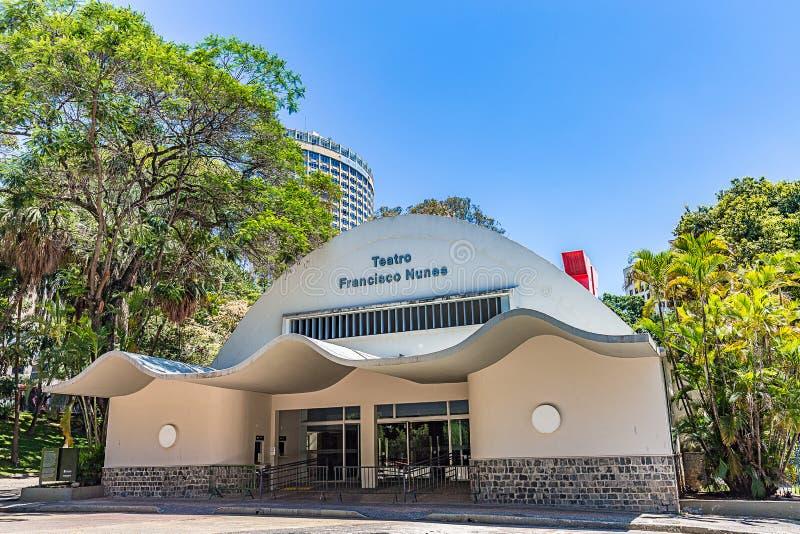 BELO HORIZONTE, BRÉSIL - 13, OCTOBRE 2017 : Francisco Nunes Thea image libre de droits