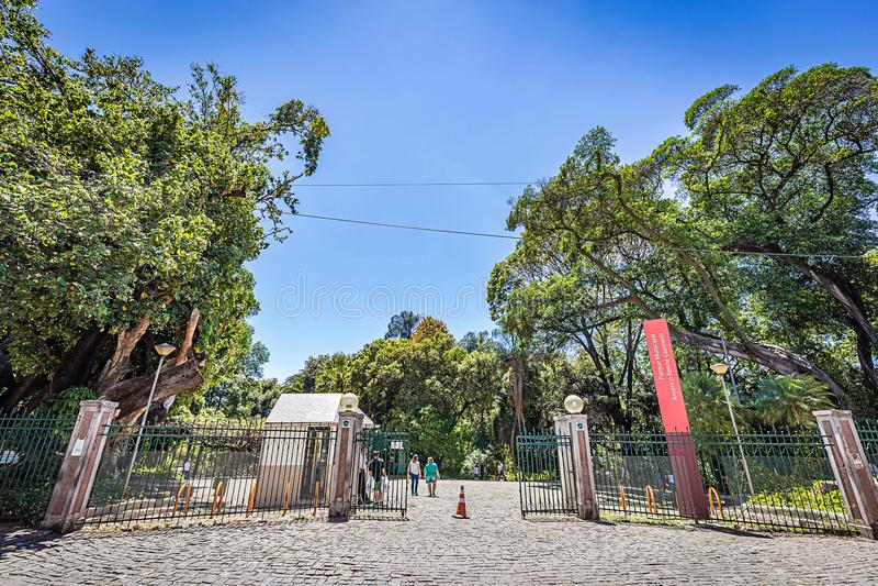BELO HORIZONTE, BRÉSIL - 13, OCTOBRE 2017 : Paysage urbain, Minas Ger photographie stock