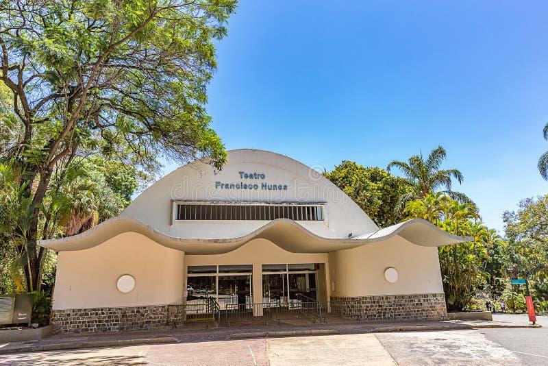 BELO HORIZONTE, EL BRASIL - 13, OCTUBRE DE 2017: Francisco Nunes Thea fotos de archivo libres de regalías