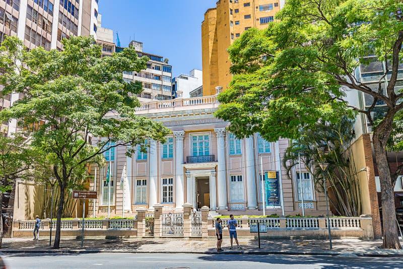 BELO HORIZONTE, EL BRASIL - 13, OCTUBRE DE 2017: Invernadero o de la música fotografía de archivo