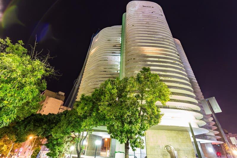 BELO HORIZONTE, EL BRASIL - 12, OCTUBRE DE 2017: Un instalation i del arte imagen de archivo libre de regalías